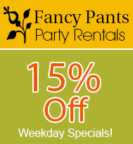 15% Off, on Inflatable Rentals